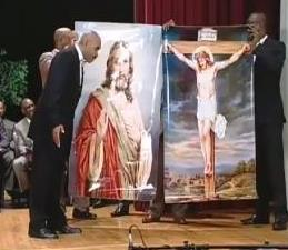 "Pastor says ""Image of Jesus is fake."""